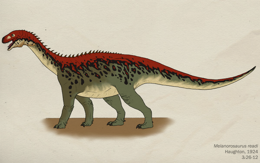 025--MELANOROSAURUS READI by Green-Mamba