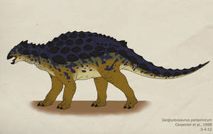 036--GARGOYLEOSAURUS PARKPINORUM by Green-Mamba