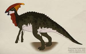 044--CHARONOSAURUS JIAYINENSIS by Green-Mamba