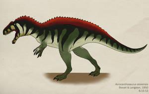 047--ACROCANTHOSAURUS ATOKENSIS by Green-Mamba