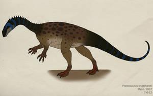 053--PLATEOSAURUS ENGELHARDTI by Green-Mamba