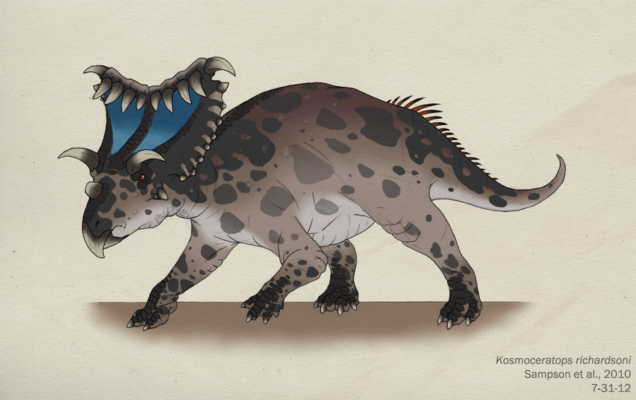 060--KOSMOCERATOPS RICHARDSONI by Green-Mamba
