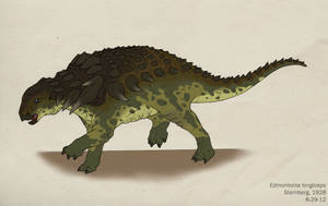066--EDMONTONIA LONGICEPS by Green-Mamba