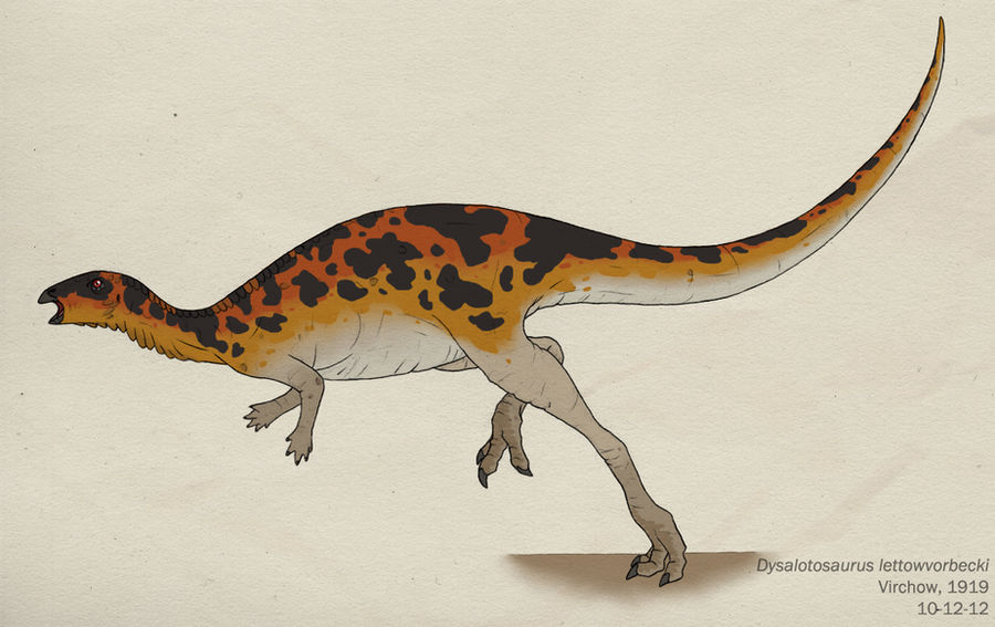 079--DYSALOTOSAURUS LETTOWVORBECKI by Green-Mamba