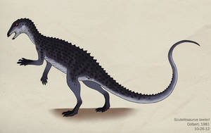 083--SCUTELLOSAURUS LAWLERI by Green-Mamba