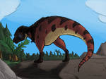 Quick and Ugly Speedpainting: Lonely T. rex