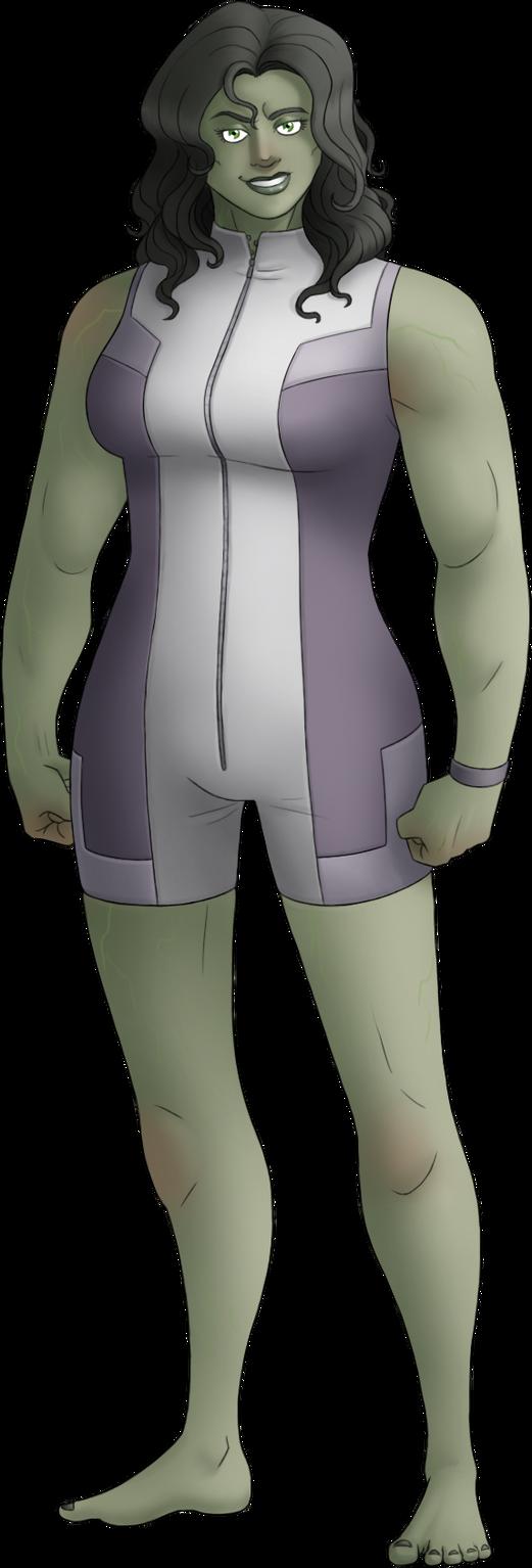 M050--She-Hulk by Green-Mamba