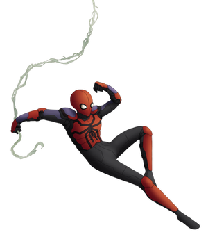 001f--Spider-Man (Spider Armor Mark II)