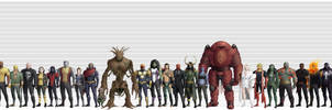 Greater Marvel Universe: Lineup of the First 100