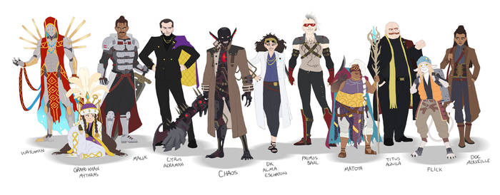 Final Fantasy Concept -- Other Characters