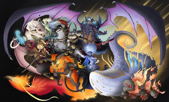 Final Fantasy Concept -- Aeons
