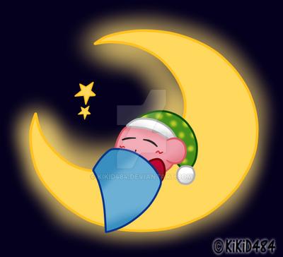 Kirby Good Night By Kikid484 On Deviantart