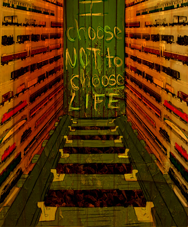 I choose not to choose life. by Abikail on DeviantArt