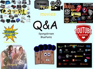 Q and A Spongebrown Bluepants Sept month (OPEN)