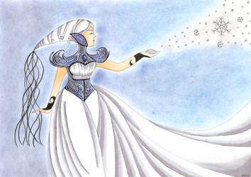 CE: Ice Queen by FreyaAbendstern