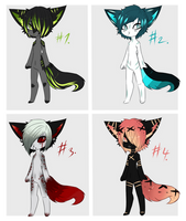 Male Anthro Adopts (CLOSED) by ariichai