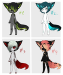 Male Anthro Adopts (CLOSED)