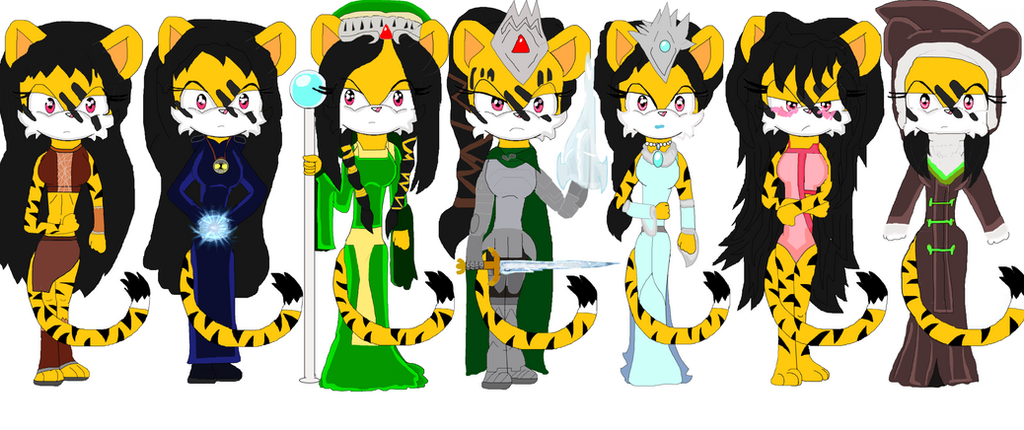 Outfit Desgins: Crystyn by DarkCatTheKhajjit