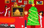 Countdown to Christmas: Day 25/Gift 9 Media's tree by DarkCatTheKhajjit