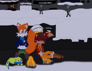 Christmas/BG 3: Warmth of holly night by DarkCatTheKhajjit