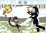 Mixedfan8643's birthday 1/3: Troll of the Mobius by DarkCatTheKhajjit