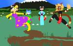 Scott's Brithday 3/3: Kung Fu vs Brawl fist by DarkCatTheKhajjit