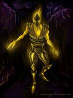 Flame Atronach by HeavyMouse