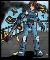 Megaman Volnutt by Ezula-87