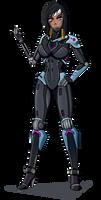 Armorless Raptorian Pharah