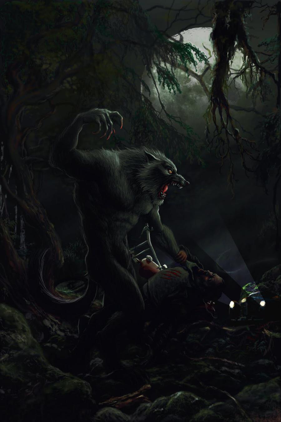 werewolf by ptrepan