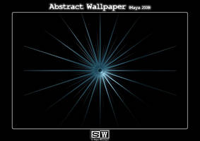 Abstract Wallpaper Star by iFeelNoSorrow