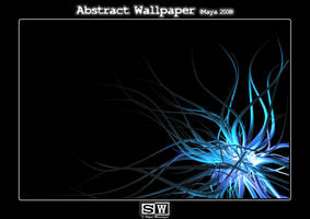Abstract Wallpaper Bacteria by iFeelNoSorrow