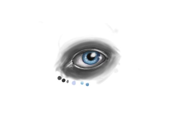 Eye try out by iFeelNoSorrow