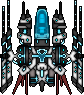 Phalanx laser ship .4 by Heart-0f-Darkness