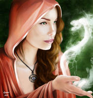 Young witch. by LogartRU