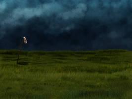 Gloomy background. by LogartRU
