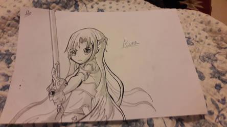 Asuna SAO by CrimsonLucario404