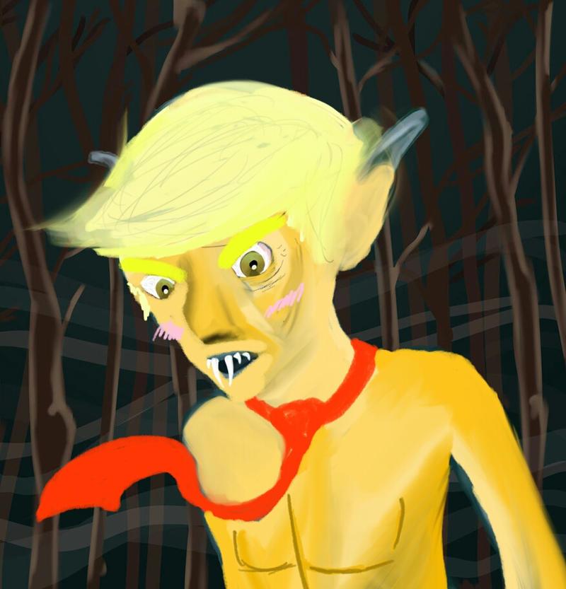 uhh Trump? by CrimsonLucario404