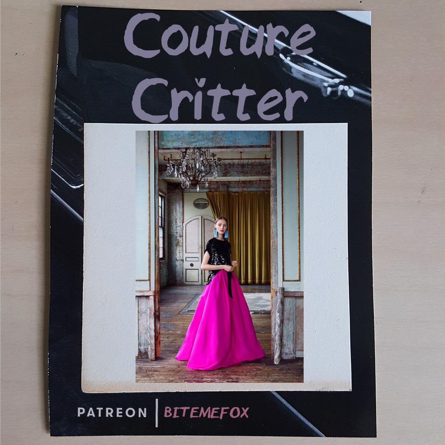 6-7-18 Couture Critter Drawing Prompt by BiteMeFox