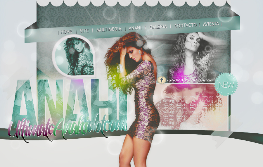 Anahi header. by PartywithDemetria