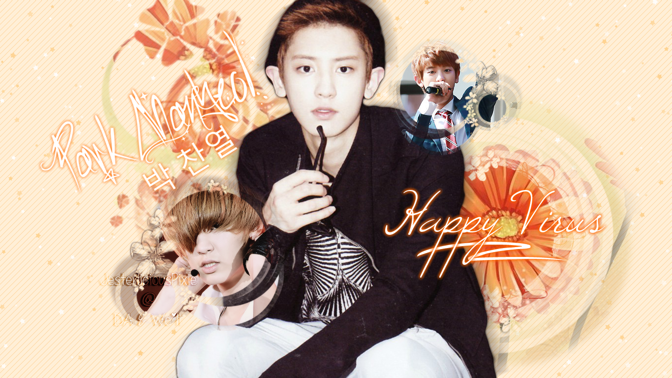 deviantART: More Like Park ChanYeol [Wallpaper] by JesterliciousPixie
