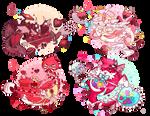 (CLOSED)(Auction) Valentine Dragon Drops