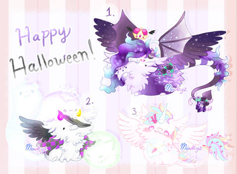 (CLOSED) Halloween Dragon Drops (Auction)