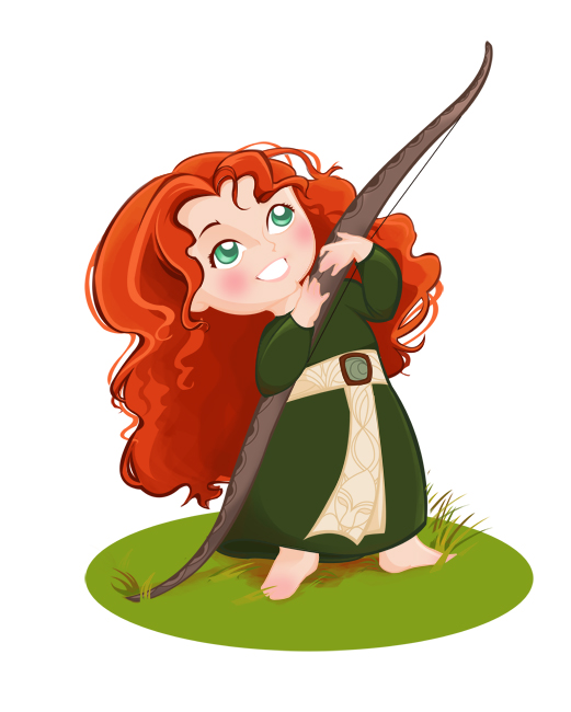 Young Merida by MadEye01