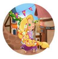 Rapunzel Braid by MadEye01