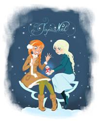 Merry Frozen Christmas !