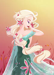 Frozen Fever - Elsa by MadEye01