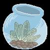 Succulent in bottle [F2U] by Sara-Sylvanas