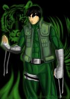 Konoha's  jade wildcat by The-Hige