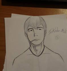 Inktober #5 Onizuka Eikichi by The-Hige